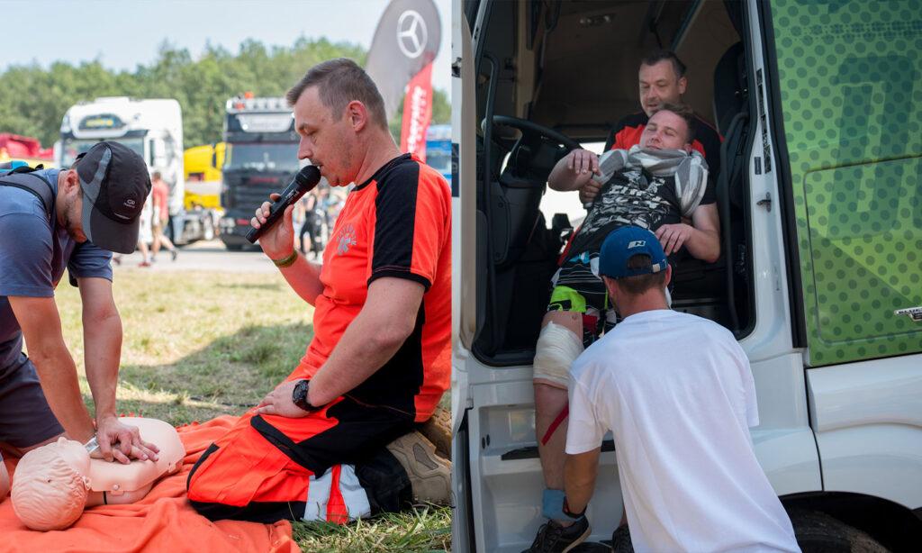 Szkolenia z pierwszej pomocy dla kierowców zawodowych, pierwsza pomoc w wypadku drogowym, szkolenie pierwsza pomoc dla kierowcy